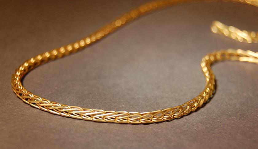 золото цепочки на шею
